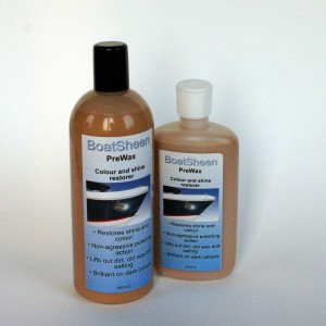 BoatSheen prewax colour restorer